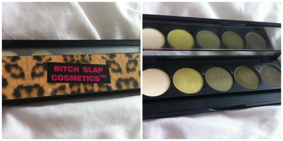 Bitch Slap Cosmetics Green Eyed Bitch Palette