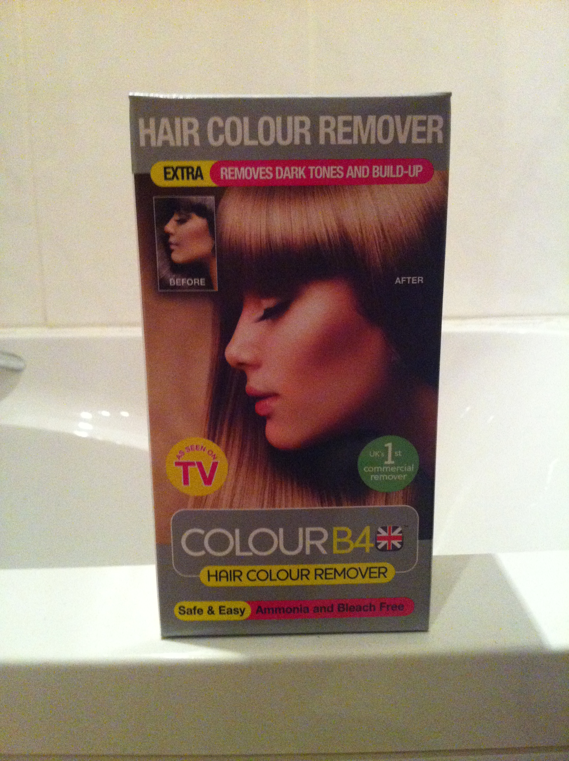 Colour B4 Hair Colour Remover Extra Strength The Glamour Nazi