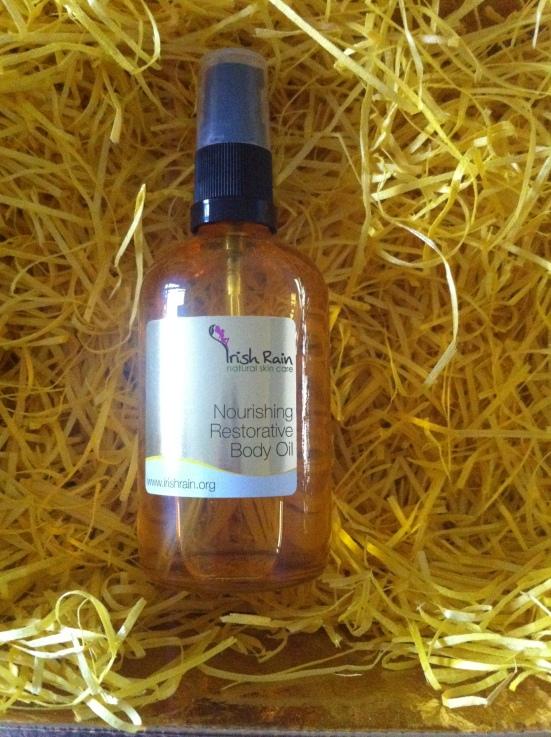 Irish Rain Nourishing Restorative Body Oil