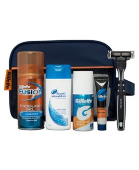 Gilette Express Travel Set Gift Bag