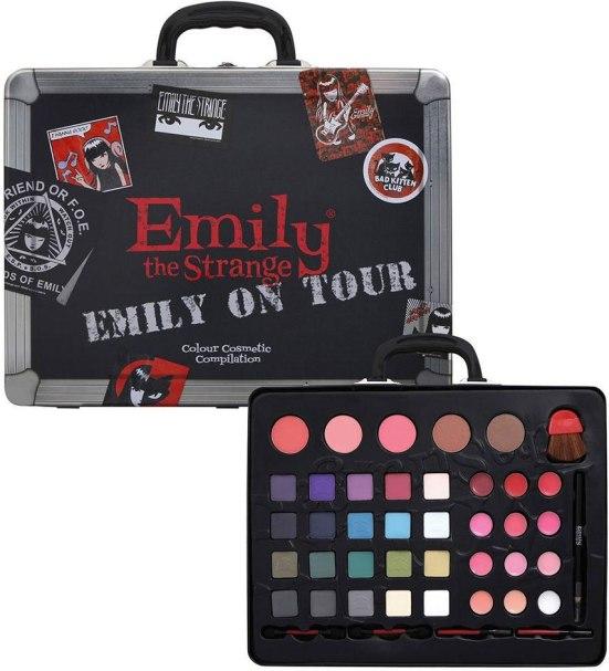 Emily the Strange Emily On Tour Cosmetics Case