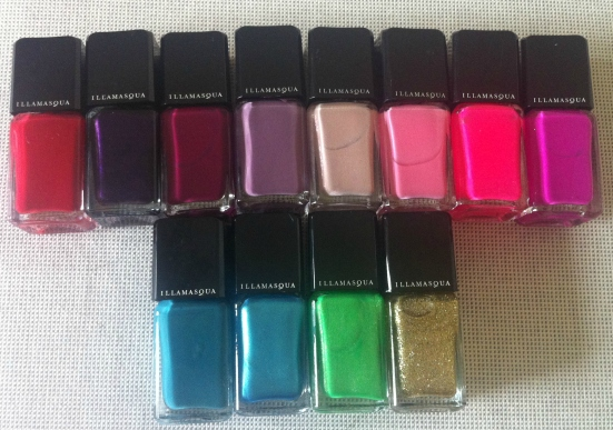 Illamasqua Nail Varnish Collection