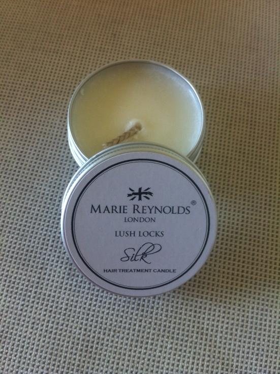 Marie Reynolds London Lush Locks Candle Silk