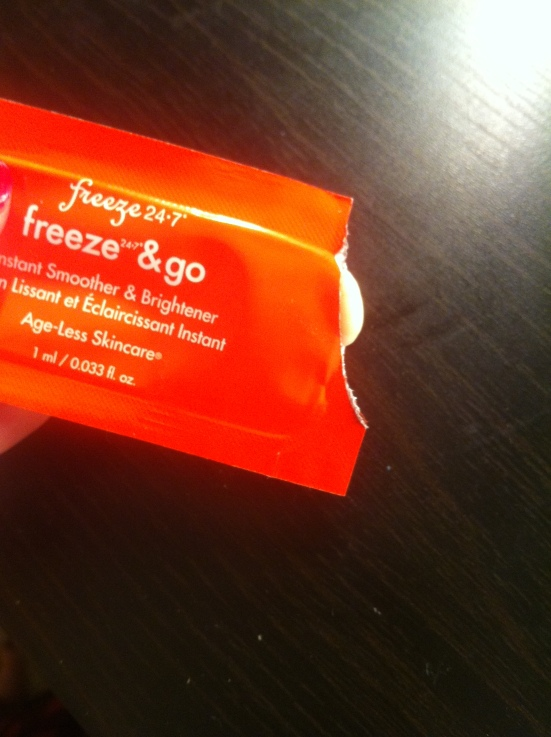 Freeze 24-7 Freeze & Go Instant Smoother and Brightener