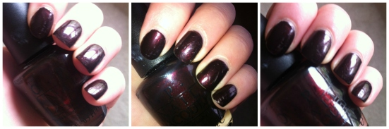 O.P.I. Nail Lacquer - Midnight in Moscow