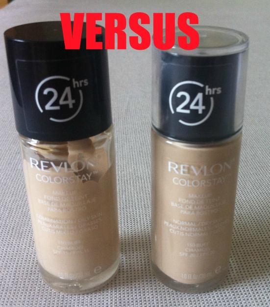 Revlon Colorstay Foundation - Combination/Oily versus Normal/Dry version