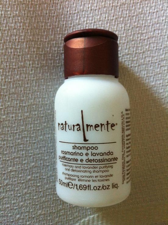 Naturalmente Rosemary and Lavender Purifying and Detoxinating Shampoo
