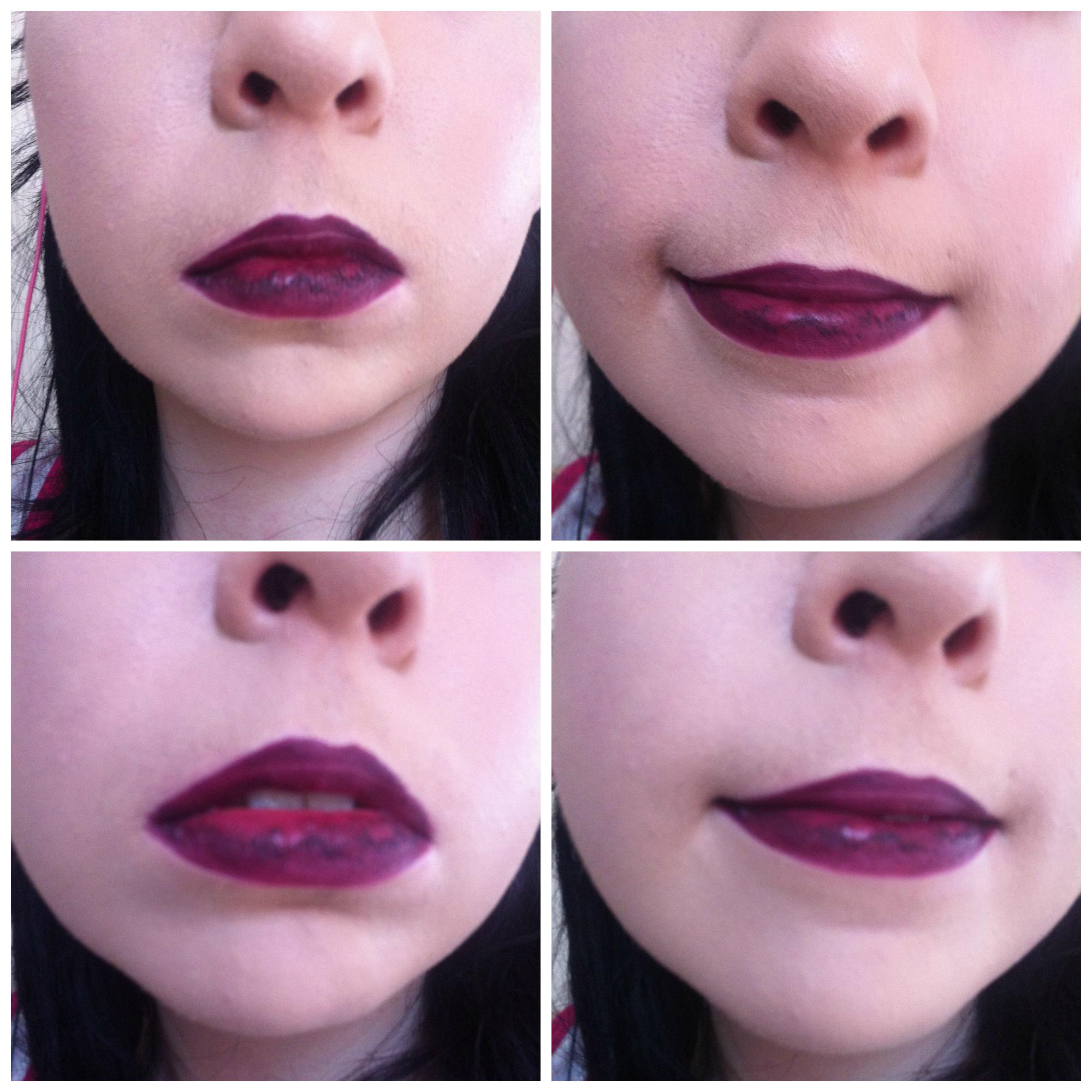 Mac purple lip liner