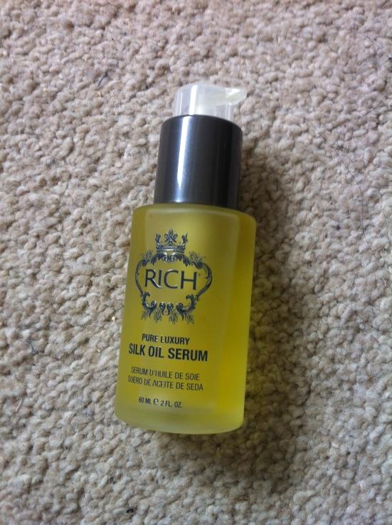 Rich Hair Care Pure Luxury Silk Oil Serum