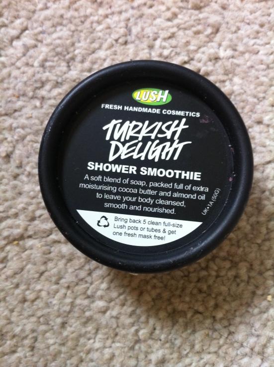 Lush Turkish Delight Shower Smoothie